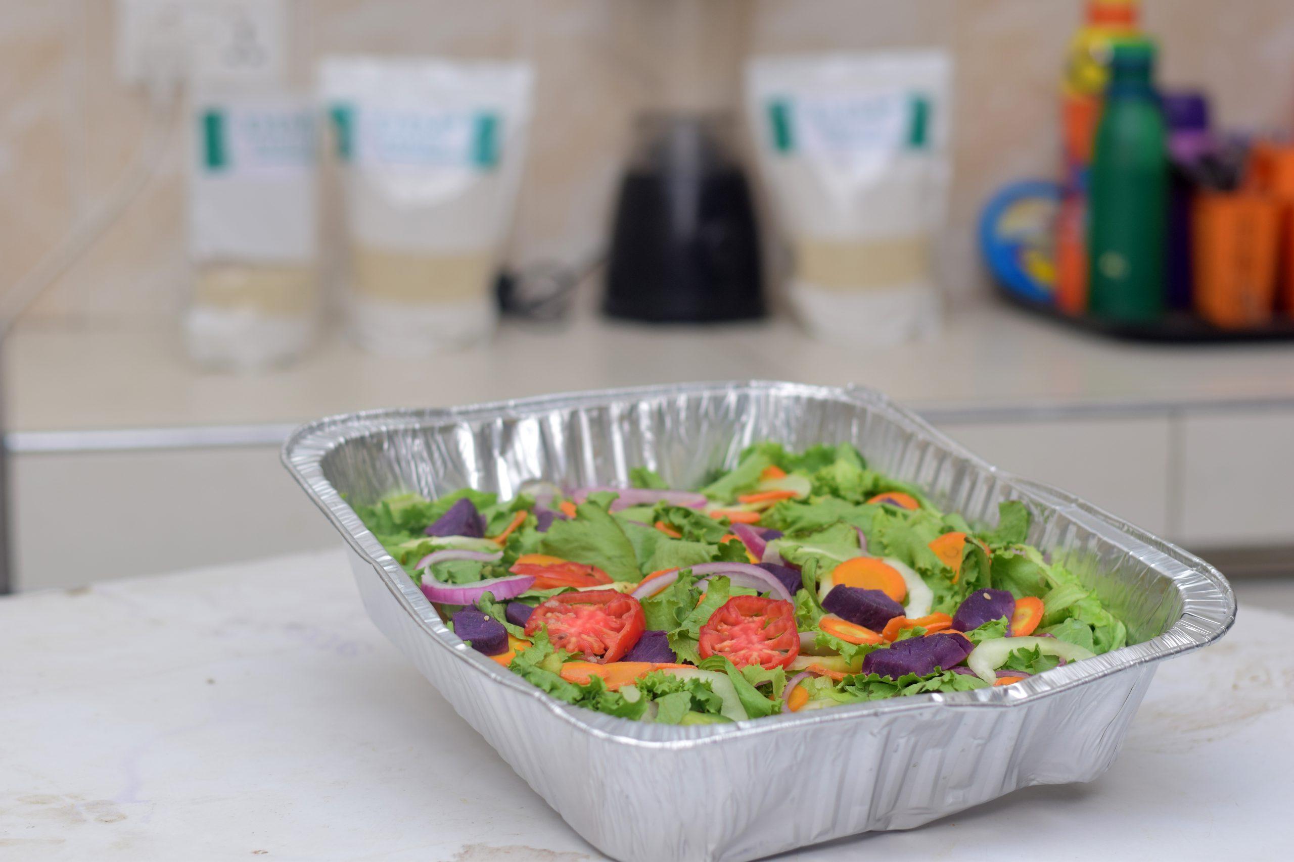 dim fonio salad